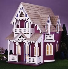 "Beautiful Greenleaf VINEYARD COTTAGE Dollhouse KIT~ New In Box ~ 1"" Scale"