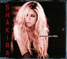 SHAKIRA UNDERNEATH YOUR CLOTHES 4 TRACK CD - EXCELLENT - VGC
