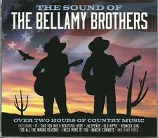 THE SOUND OF THE BELLAMY BROTHERS - 2 CD BOX SET - DANCIN' COWBOYS & MORE