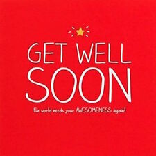 Happy Jackson Card: Get Well Soon - New In Cello (GF828B)