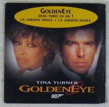James Bond 007 CD single GoldenEye Tina Turner 1995