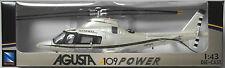 NewRay - Agusta A109 Power perlmutt Hubschrauber / Helicopter 1:43 Neu/OVP