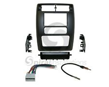 Radio Stereo Installation Dash Kit Combo Double Din + Wire Harness + Antenna D46