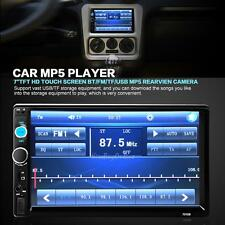 7'' HD Handsfree Bluetooth Car MP5 Stereo Radio 2 DIN FM MP5 USB AUX Touch  K1B