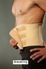 FDA APPROVED Universal Lower Back Support Brace Lumbar Waist Belt by BraceKing