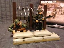 LEGO / MEGA BLOKS Call of Duty 06862 PLATOON PATROL FIGURES # 2 & 5 (LOT 249)