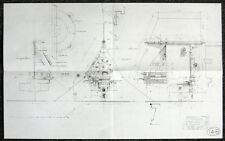 STAR WARS REPRO 1976 LUKE SKYWALKER STAR HOPPER BLUEPRINT PLAN DRAWING . NOT DVD