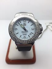 "TAG HEUER ""FORMULA 1"" STAINLESS STEEL LADIES WATCH W/DIAMONDS"