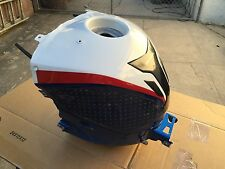 BMW S1000RR Gas Tank Fuel Cell red white blue motorsport OEM 2012 - 14  8529246