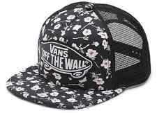 Vans Off The Wall Women's Beach Girl Trucker Hat Cap - Graphite Floral