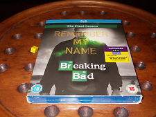 Breaking Bad Stagione 6 The Final Season Blu Ray UV BONUS Blu-Ray ..... Nuovo