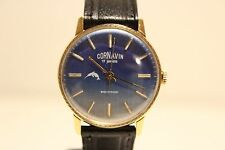 "VINTAGE USSR RUSSIA GOLD PLATED MEN'S MECHANICAL WATCH""CORNAVIN"" 17J./NICE DIAL"