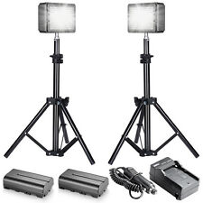 Bestlight Double LED-204 Video Light Kit for Canon Nikon DSLR Cameras