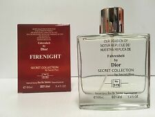 FIRENIGHT Our Version of FAHRENHEIT FOR MEN 3.4 OZ EDT SPRAY NEW IN SEALED BOX