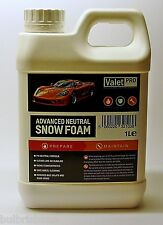 Aparcacoches Pro avanzada neutral Nieve Espuma / pre lavado champú / Wheel Cleaner Ph / Car