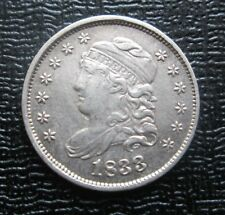 1833 USA Capped Bust Silver Half Dime