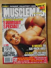 MUSCLEMAG bodybuilding SWIMSUIT GLUTES magazine/WWE Diva TRISH STRATUS 5-00