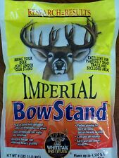 4 lb BOWSTAND Whitetail Institute SEEDS MIX DEER PLOT SEED Archery NO TILL