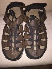 ABEO  B.I.O. SYSTEM   DENVER   H2O   BROWN   WATERPROOF   SANDALS    SIZE  7M