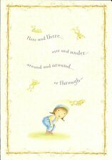 Ellie's World Thinking Of You Hopping Frog Frogs Hallmark Greeting Card