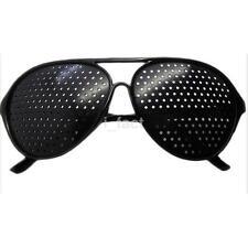 Unique Pinhole Glasses Eyeglasses Eyewear Vision Eyesight Improve Care Exercise