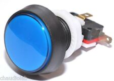 45mm HQ Momentary Illuminated LED Pushbutton Switch~Blue