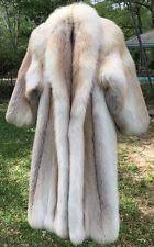 Stunningly Beautiful Vintage Golden Island Fox Fur Coat /Jacket SZ- Med / L