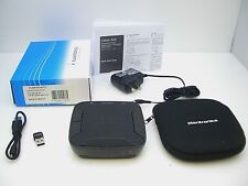 Plantronics Calisto P620 Bluetooth Computer Speakerphone UC version + AC Charger