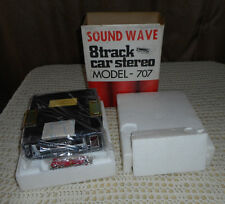 VINTAGE SOUND WAVE #707 8 TRACK CAR STEREO TAPE DECK NOS