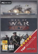 JEU PC MEN OF WAR RED TIGE MISSIONS BATAILLE COMBAT STRATEGIE WINDOWS XP/VISTA/7