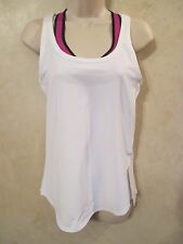 NWT LULULEMON White STUDIO RACERBACK TANK Top~Size 10~SOLD OUT!!
