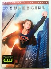NEW DC COMICS SUPERGIRL THE COMPLETE FIRST SEASON DVD 5 DISC SET + SLIPCOVER