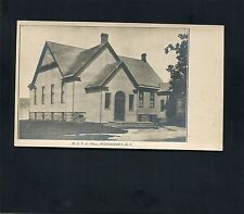 postcard size photo WCTU Hall Temperance Irondequoit New York Monroe County