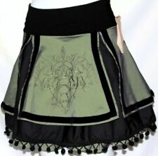 S LOLITA TRIBAL BURLESQUE GOTHIC STEAMPUNK BELLY DANCE DANCING MINI SKIRT BELT