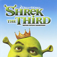 Shrek The Third: Motion Picture Soundtrack by Original Soundtrack (CD)
