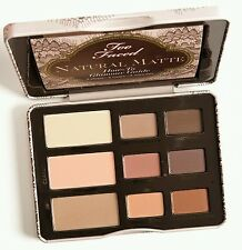 Too faced NATURAL MATTE Eyeshadow collection *Brand New in Box* 100% Genuine