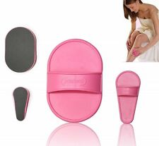 Hair Removal Pads Smooth Skin Legs Arms Face Sheer Skin Lip Painless Buffer New