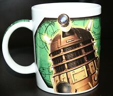 DOCTOR WHO DALEKS CYBERMEN MUG. EXTERMINATE! YOU ARE AN ENEMY OF THE DALEKS…