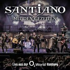 SANTIANO - MIT DEN GEZEITEN-LIVE AUS DER O2 WORLD HAMBURG 2 CD NEW+