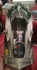 Mighty Morphin Power Rangers Power The Movie Black Ranger New 8 inch WOW RW3