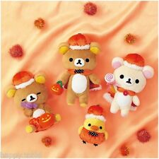 San-X Rilakkuma Halloween Plush ~Trick or Treat ! ~ Whole Set from Japan