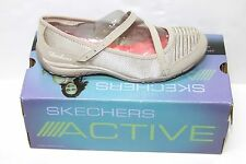 Womens Skechers 22267/TPE Inspired Luster Taupe Casual Mary Janes Sz 10 NIB