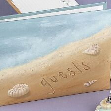 Seaside Jewels Beach Theme Personalized Wedding Guest Book