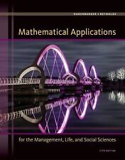 Mathematical Applications for the Management, Life, & Social Sciences (US 11/E)