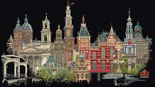 THEA GOUVERNEUR  450.05  Amsterdam  Aïda noire  Broderie Point de Croix  Compté