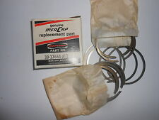 39-37654A12 NEW GENUINE VINTAGE MERCURY PISTON RINGS (12 RINGS) Inventory A11-7