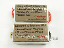 Epiphone/ Les Paul SG Humbucker Pickup Set Chrome