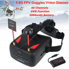 5.8G 40CH FPV Goggles DVR 3D VR HD Video Glasses for RC Racing Drone Walkera 250
