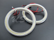 6K Xenon White Universal Fit LED Angel Eye Halo Rings 85mm 57-SMD LED VERSION 2