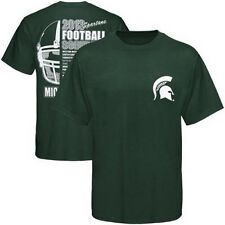 Michigan State Spartans 2013 Football Schedule t-shirt Big 10 Sparty St New